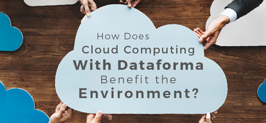 how cloud computing benefits the environment