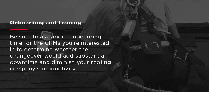 Onboarding and Training