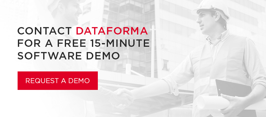 Contact Dataforma for a Free 15-Minute Software Demo