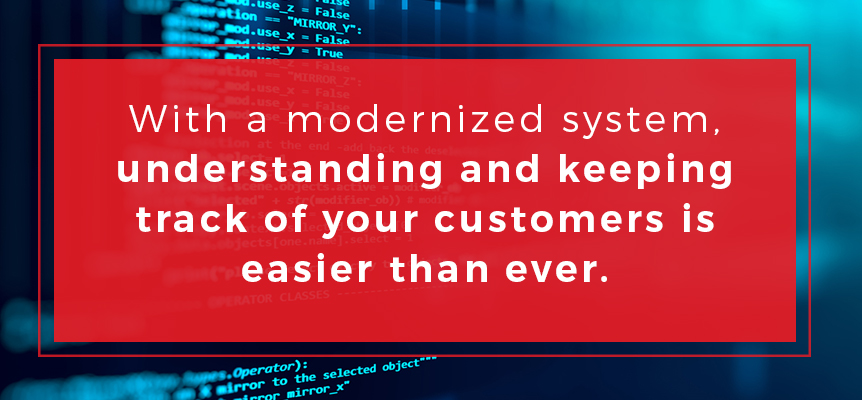 Tracking and understanding your customer data is easier than ever with modernized field service solutions from Dataforma.