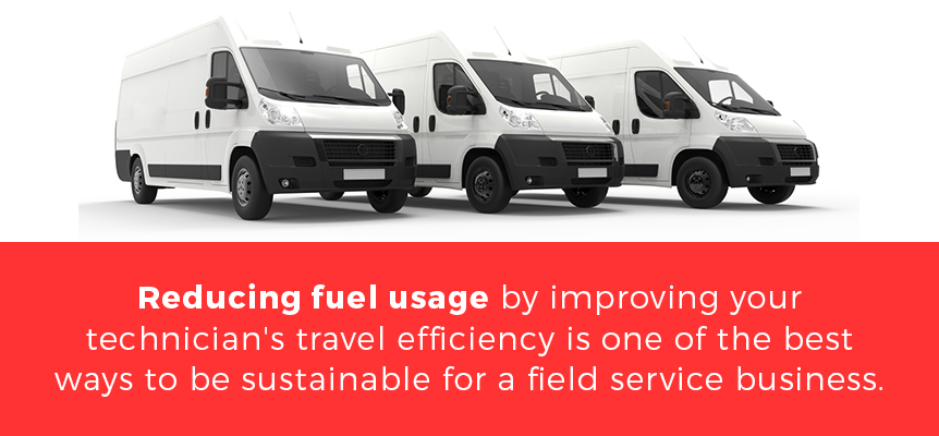Reduce Fuel Usage